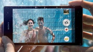 Sony Xperia Z1 underwater