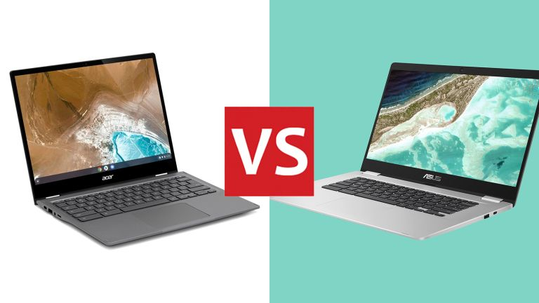 Acer Chromebook Spin 713 vs Asus C523 Chromebook