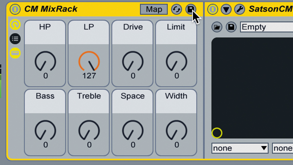 How to create a custom effects chain using Ableton Live's Racks