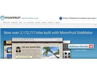 Moonfruit no longer sponsered by Twitter