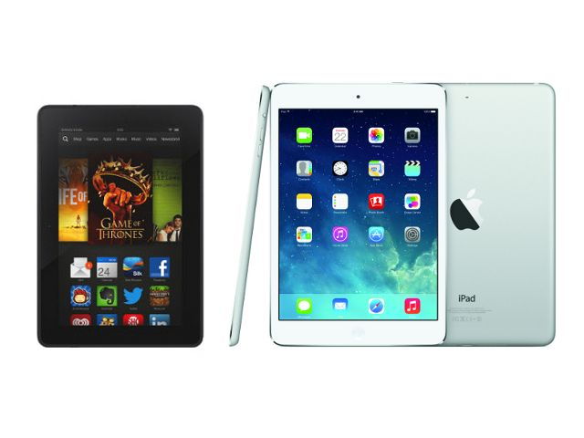 Apple Ipad Vs Kindle: Apple IPad Mini With Retina Display Vs Amazon Kindle Fire