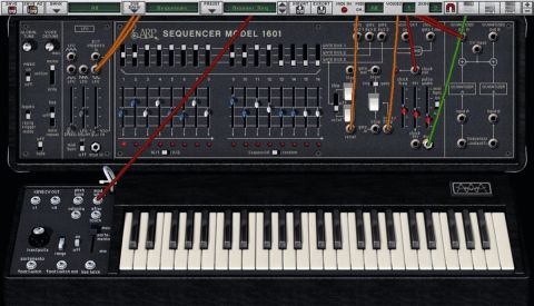 If you don't have room for the ARP 2600, but want that classic sound, then the 2600V is for you.