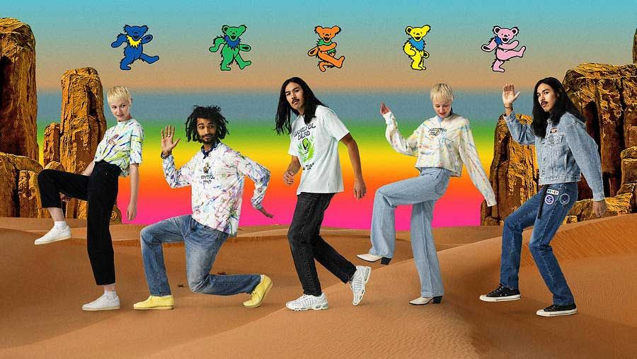 Levi's® hook up with Grateful Dead for new clothing collection