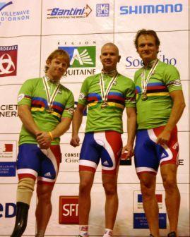 Team Sprint podium