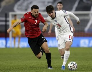 Mason Mount is a doubt for England's World Cup qualifier against Poland