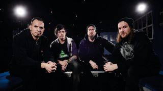 Guitar round table: Mark Tremonti, Eric Friedman, Andy James and Dan Woodyer talk