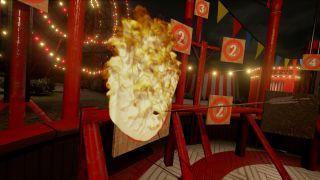 VR Funhouse Fire Archer