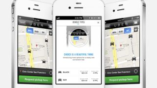 Uber app offers olive branch to protesting London cabbies with UberTAXI option