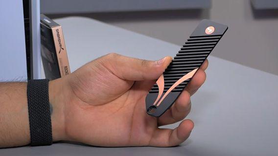 Sony PS5 SSD heatsink