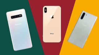 Samsung Galaxy Note 10 Plus vs iPhone XS Max vs Samsung Galaxy S10