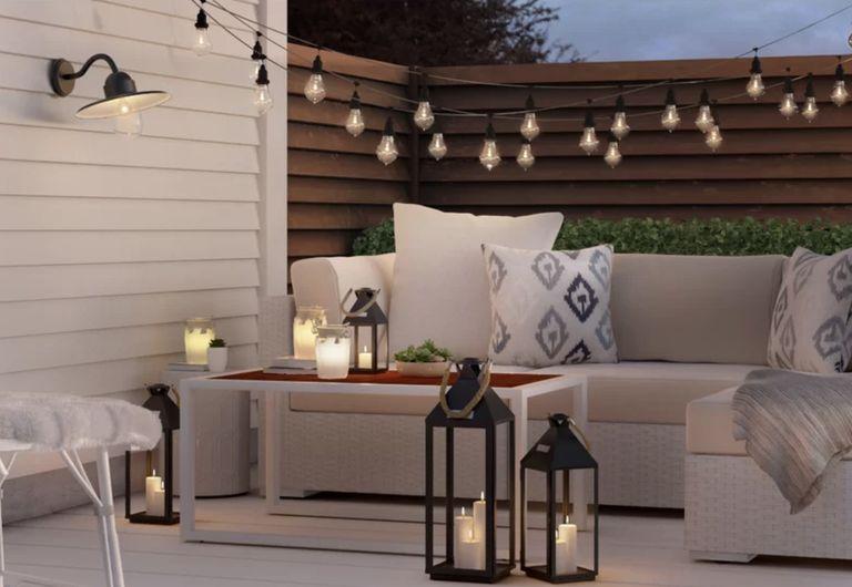 garden lighting ideas: Light LED Yellow Sun Jar Light by Vintage Boulevard