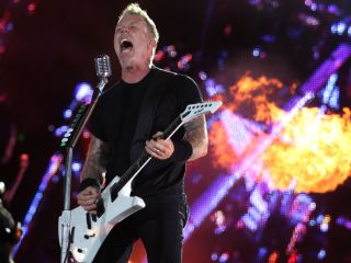 Is James Hetfield 'fired up' about Lulu? Yep!