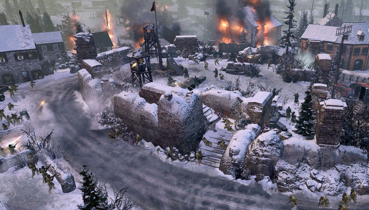 Company Of Heroes 2 Ardennes Assault Pc Gamer