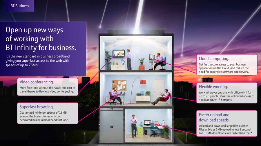 Build your company with BT infinity for business | TechRadar