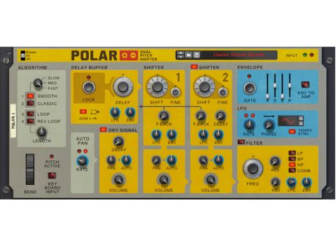 Polar brings some suitably whacked-out FX capabilities to the Reason experience.
