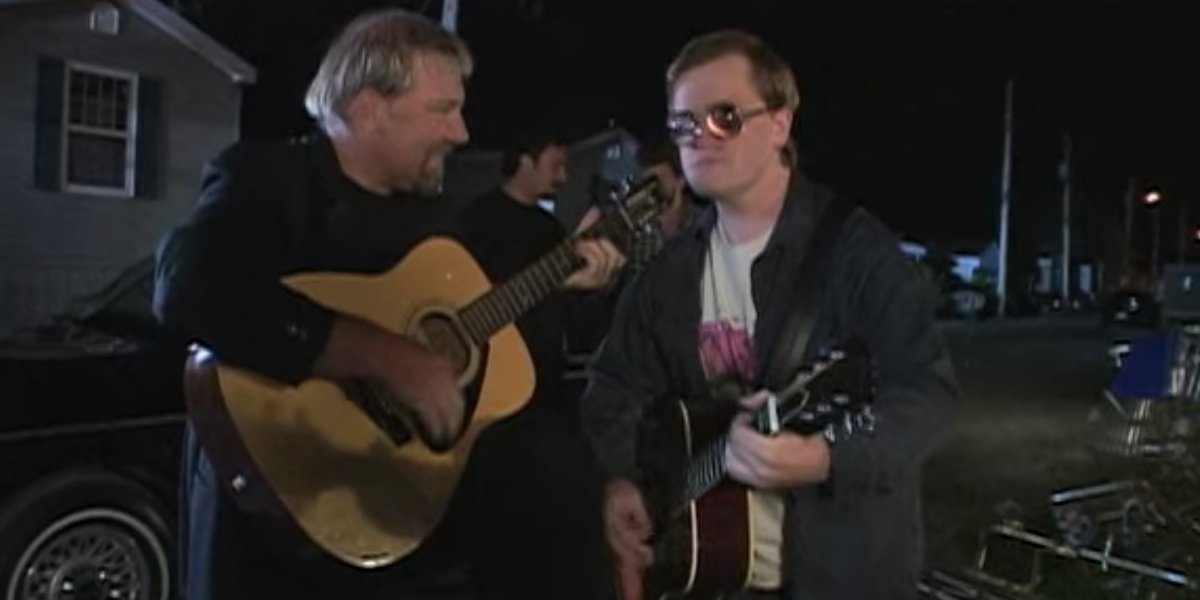 Alex Lifeson and Mike Smith on Trailer Park Boys