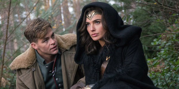 Diana and Steve Trevor in Wonder Woman