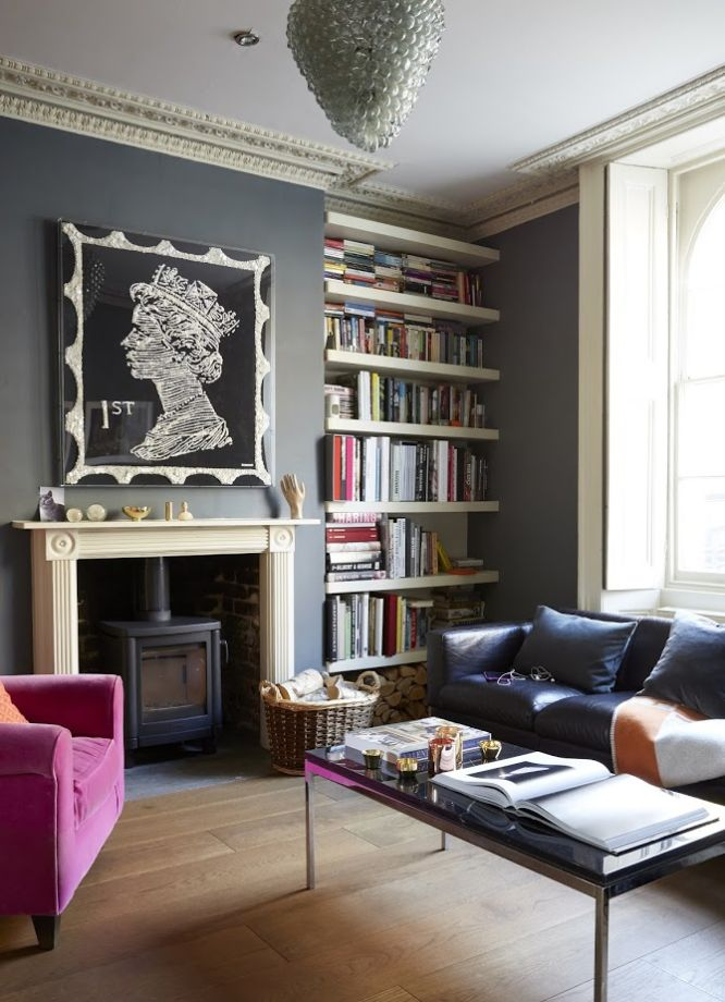 Moody And Dramatic Dark Living Room Ideas And Paint