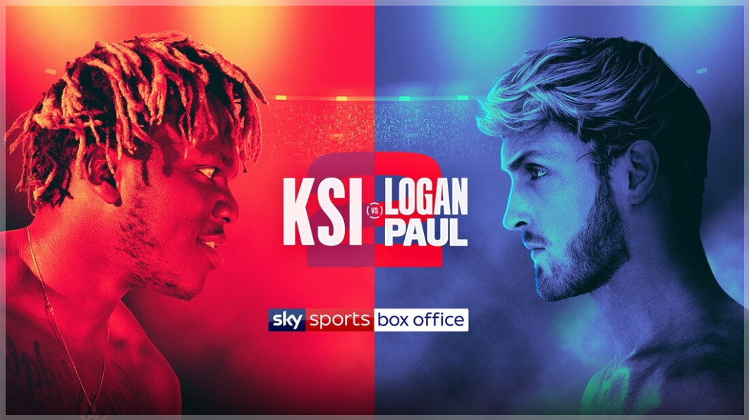 How To Watch Ksi Vs Logan Paul 2 Live Stream Tonights Big
