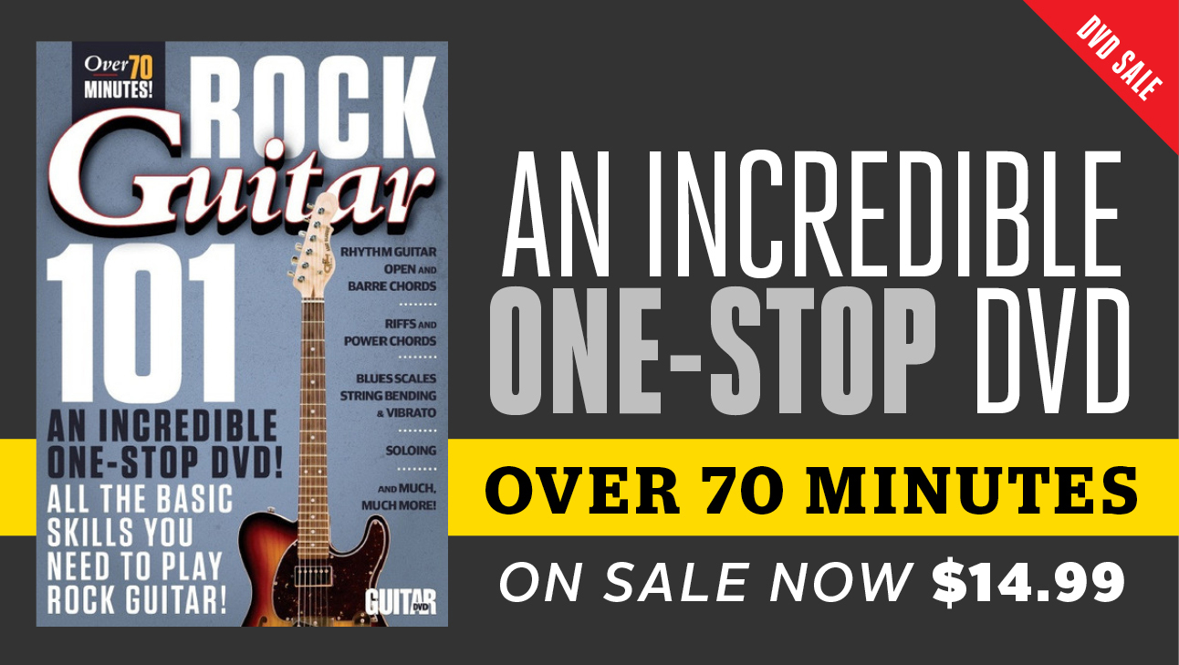 Sample Guitar Worlds New Rock Guitar 101 Dvd With Andy Aledort