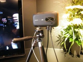 A prototype 3D camera that does still and moving image