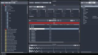 Cubase's MediaBay is a great organising tool.