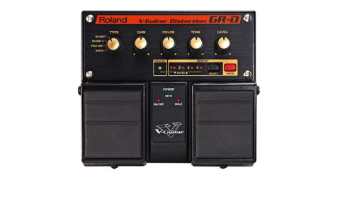 The GR-D V-Guitar Distortion offers a portion of V-Guitar technology in a Boss Twin Pedal chassis