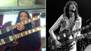 James Shaffer and Jimmy Page