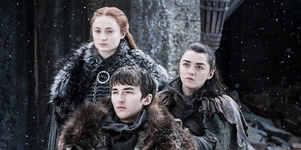 game of thrones stark kids winterfell hbo
