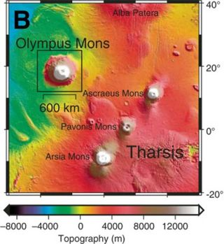 Mars Volcano Could Harbor Life