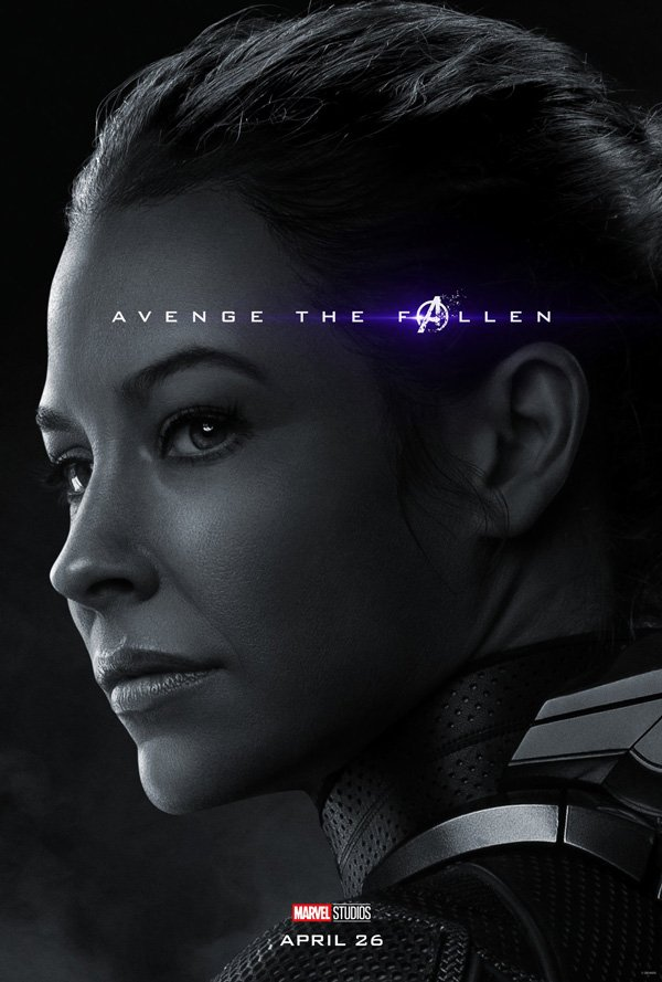 The Wasp in avengers: endgame poster 2019