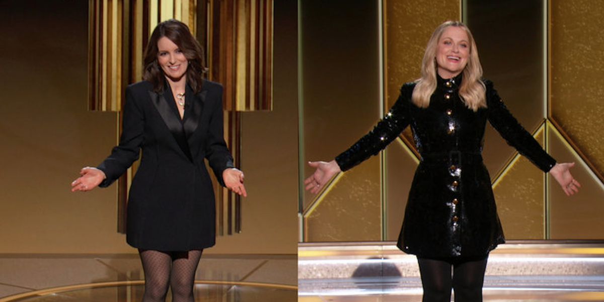 Watch Tina Fey And Amy Poehler Rip On The Golden Globes And Call Them Out For A Lack Of Diversity