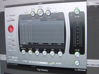 TC s new Tap Factory delay in action at Frankfurt Musikmesse 08