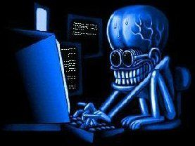 This is what a hacker looks like. In the mind of a typical Sun reader...