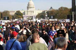 Maryland Sound Deploys JBL At Political Comedy Rally