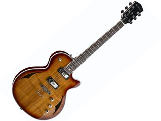 It's two guitars in one. Seriously.