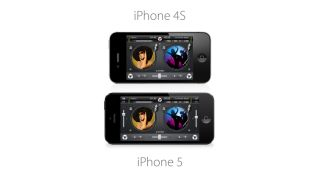 iPhone 5 owners can see more of djay s interface