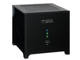 Netgear Stora - designed to look like a black box with feet