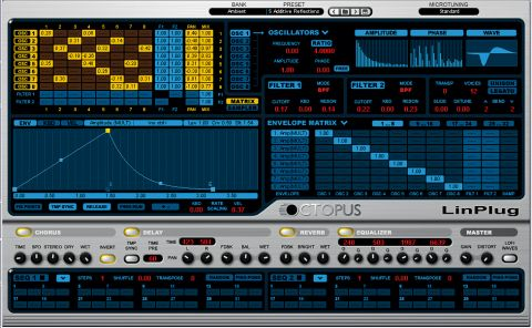 Octopus is a powerful and versatile synth-sampler.