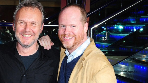 Anthony Head and Joss Whedon