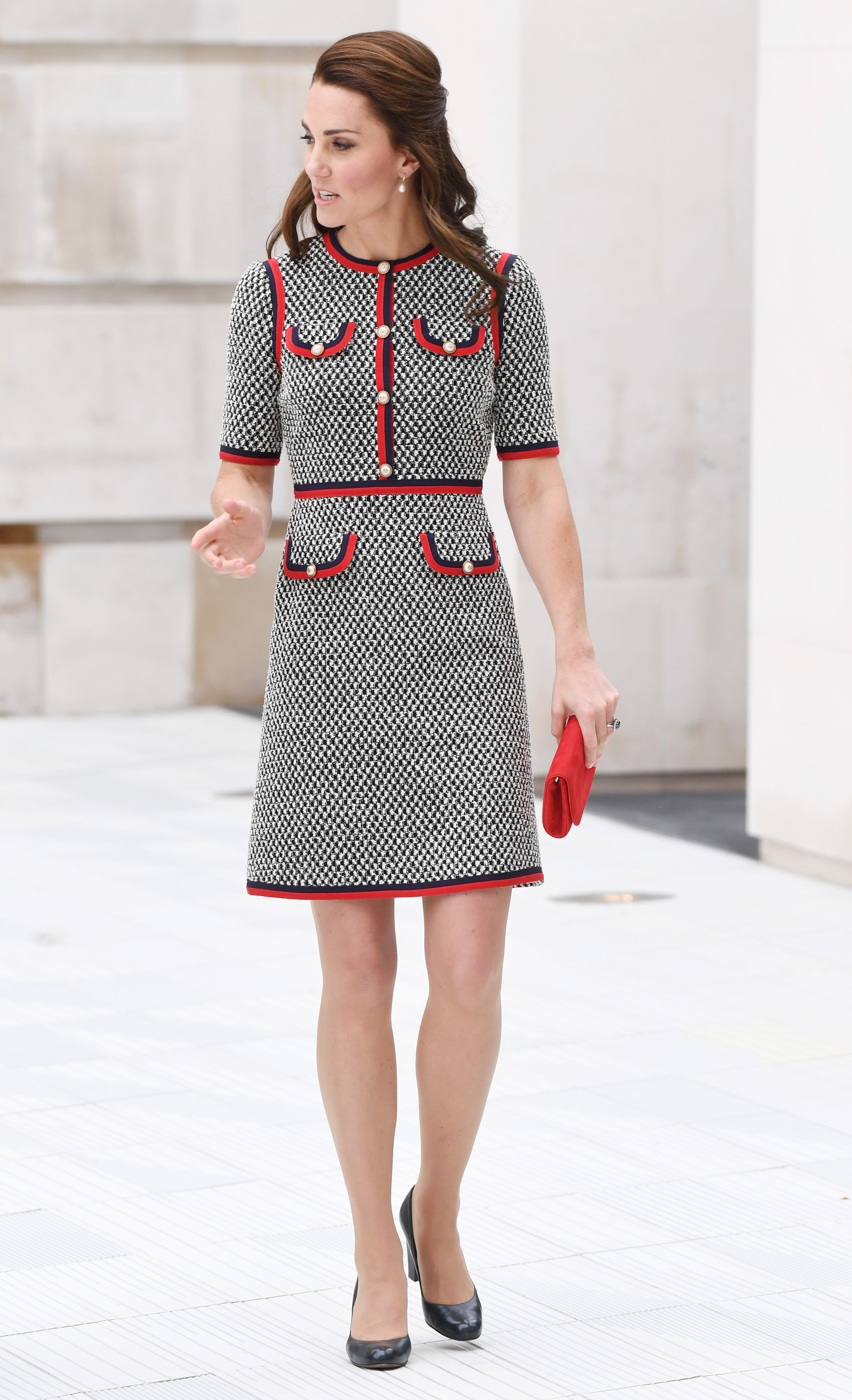Boden release affordable look-a-like of the Duchess of Cambridge's Gucci tweed dress
