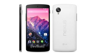 Nexus 5 appears in white again reportedly arriving on November 1