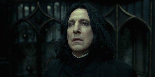 Severus Snape Harry potter Alan Rickman