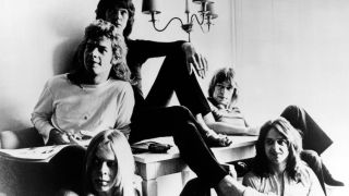 A picture of Yes taken in 1971