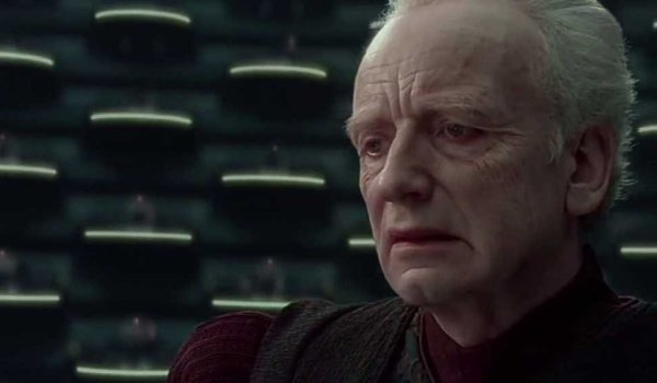 Star Wars: Revenge Of The Sith Chancellor Palpatine makes a grave announcement