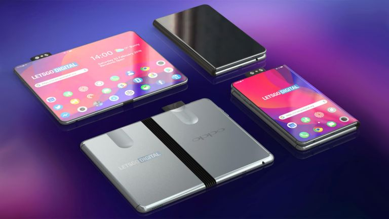 Oppo foldable phone concept