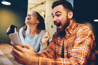 Shutterstock image of people celebrating