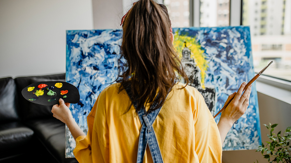 Canvas painting for beginners: Top tips
