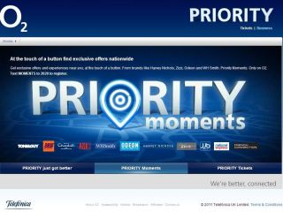 O2 launches Priority Moments - it's not a snack