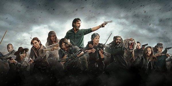 The cast of The Walking Dead Season 8